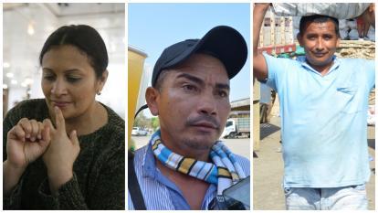 Yesenia Torres, Day Montes Tapia y Elber Salcedo son tres de los desarraigados de El Salado.