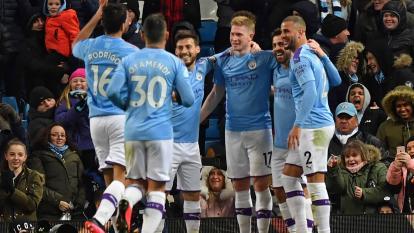 Manchester City vence en su primer partido tras la sanción de la UEFA