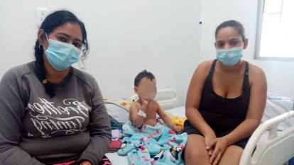 El menor permanece recluido en el Hospital Nuestra Señora de los Remedio de Riohacha.