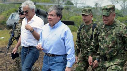 """""""Estamos en conversaciones para que entreguen a los soldados en la Macarena"""""""