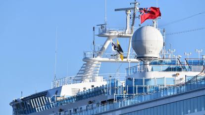 Muere en Japón pasajero británico del crucero en cuarentena por coronavirus