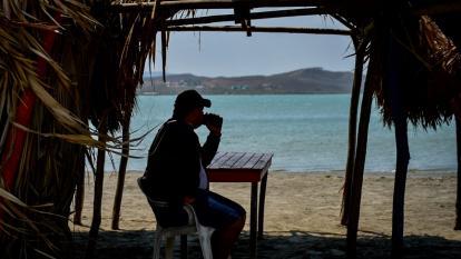 Caseteros cumplieron cierre de playas por coronavirus