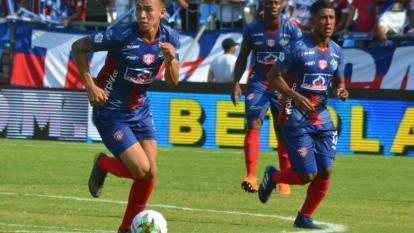 Ricardo 'el Caballo' Márquez, delantero del Unión Magdalena.