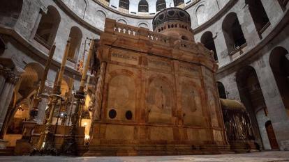 La explanada de las Mezquitas en Jerusalén se queda sin fieles por el coronavirus