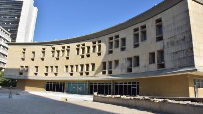Fachada del Centro de Servicios Judiciales de Barranquilla.