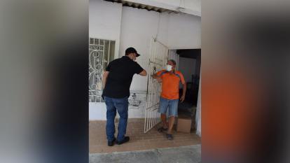 Gobernación del Atlántico comenzó entrega de ayudas humanitarias en Galapa