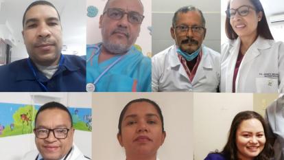 Médicos.