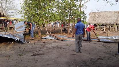 Colapsan tres casas en área rural de El Banco tras sismo de 5,7