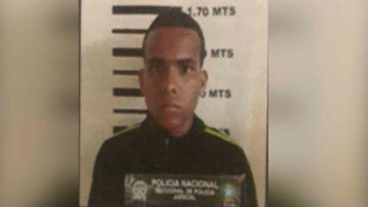 Jarol Andrés Seca, capturado.
