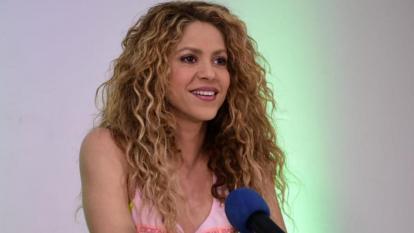 La artista barranquillera Shakira
