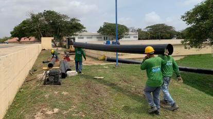 Barranquilleros se quejan por interrupciones en el servicio de agua