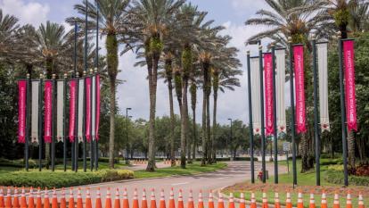 La zona deportiva de Disney en la cual se concentrarán los equipos de la NBA.