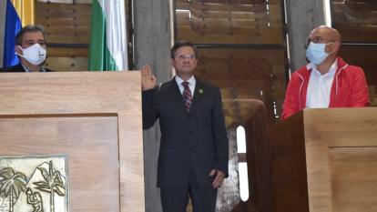 Se posesiona Luis Fernando Suárez como gobernador (e) de Antioquia
