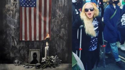 Banksy y Madonna se implican en las protestas antirracismo en el Reino Unido