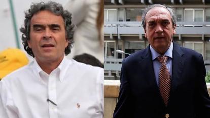 Los exgobernadores de Antioquia, Sergio Fajardo y Luis Alfredo Ramos.