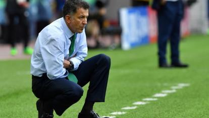 Juan Carlos Osorio cuando era técnico de la selección mexicana.