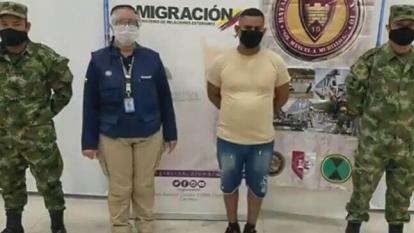 Gerardo José Rojas Castillo, capturado.