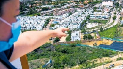Quejas en Villa Campestre por obras de la Circunvalar de la Prosperidad