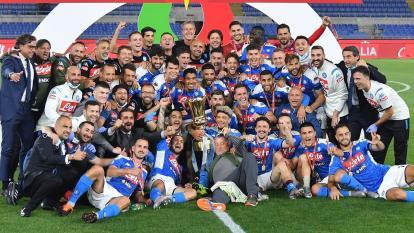 David Ospina, campeón de la Copa de Italia