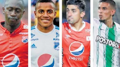 Juan Fernando Caicedo, Wuilker Faríñez, Matías Pisano y Daniel Muñoz.