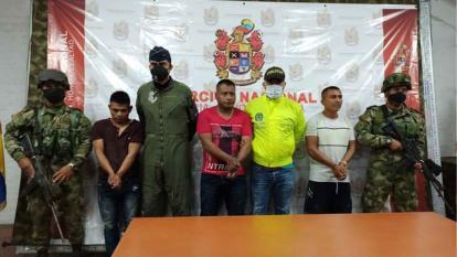 Alias 'El Indio' fue capturado en un área rural de Caloto.