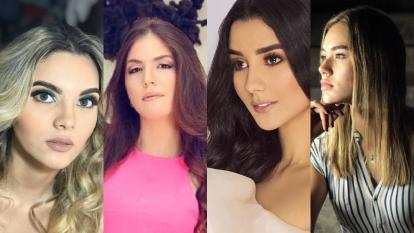Sofía Méndez, Mariale Castillo, Mary Trini Araque y Elen Álvarez son hasta ahora las cuatro jóvenes que han mostrado interés por participar en Miss Universe Colombia.