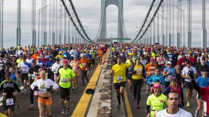 La maratón de Nueva York, la más concurrida del calendario deportivo internacional