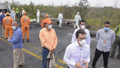 Caicedo pidió apoyo de la Red Hospitalaria del país