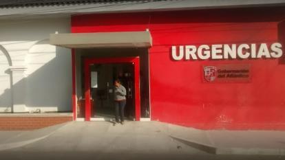 La víctima fue trasladada al Hospital Juan Domínguez Romero.