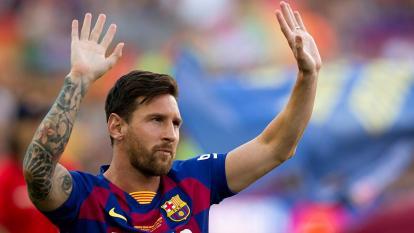 Lionel Messi, capitán del FC Barcelona.