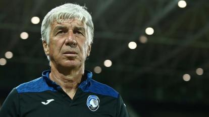 Gian Piero Gasperini, entrenador del Atalanta de Bérgamo.