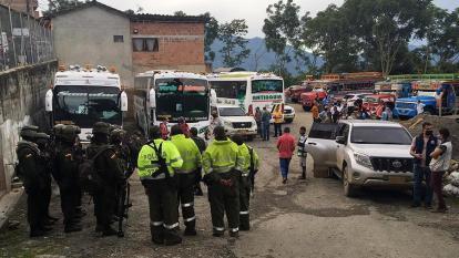 Desmovilizados de las Farc abandonan zona de reincorporación por la violencia