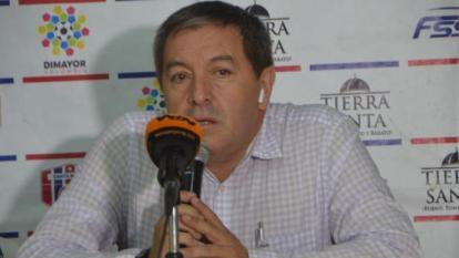 Eduardo Méndez también fue presidente del Unión Magdalena. Impulsó el regreso del equipo samario a primera división en 2019.