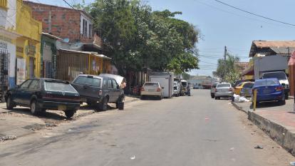 Barrio Montes, epicentro de la pelea de dos bandas