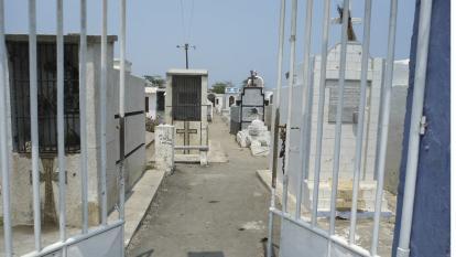 Con recursos de la Gobernación del Magdalena construyeron 15 bóvedas en el cementerio de Tasajera.