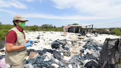 Alertan sobre 'Cartel del escombro' que rellena zonas de manglar en Cartagena