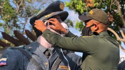 Pensionados de la Policía solicitan mejor atención a contagiados