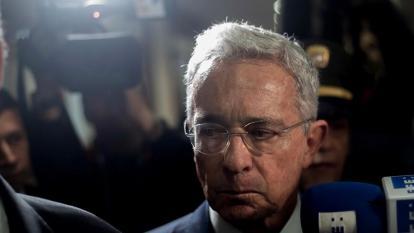 Álvaro Uribe dio positivo para coronavirus