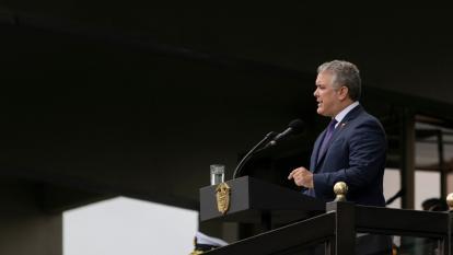 El presidente Iván Duque presidió la conmemoración por los 201 años del Ejército colombiano.