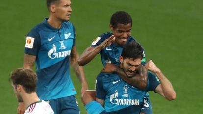 Wilmar Barrios no se cansa de ganar títulos con el Zenit