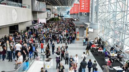 En otros años, la Comic Con es un atractivo para los amantes de los cómics.