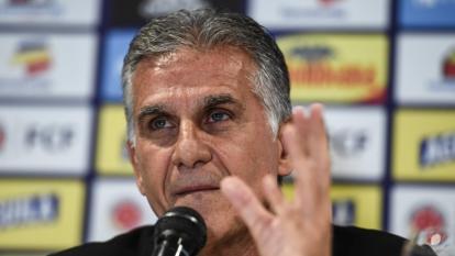 El portugués Carlos Queiroz, técnico de la selección Colombia.