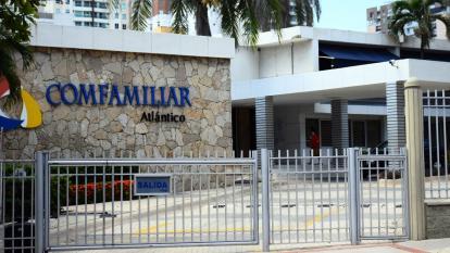Fachada de Comfamiliar en Barranquilla.