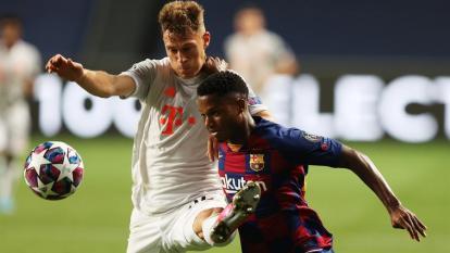 Ansu Fati, una de las jóvenes promesas de Barcelona, debutó esta temporada con el club catalán.