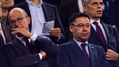 """Josep Maria Bartomeu anunció que en los próximos días se tomarían """"decisiones""""."""