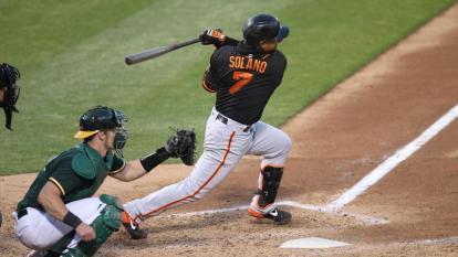 Dónovan Solano suma 28 hits en la temporada, 15 carreras impulsadas y 10 anotadas.