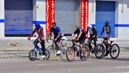 Alerta por el robo de bicicletas en Barranquilla