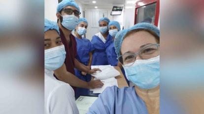 Sandra Blanco, la médico venezolana que combate la Covid-19 en La Guajira
