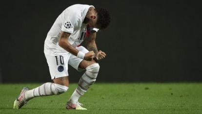 Neymar fue la gran figura del PSG en el duelo de cuartos de final.