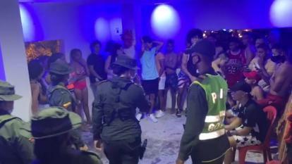 Desarmaron una rumba clandestina en Puebloviejo